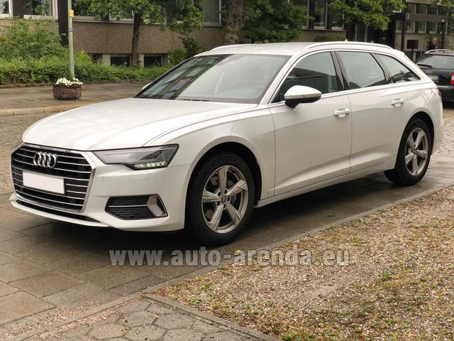 Rental Audi A6 40 TDI Quattro Estate in Valencia