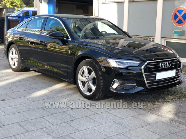 Hire and delivery to Barcelona - El Prat airport the car Audi A6 45 TDI Quattro