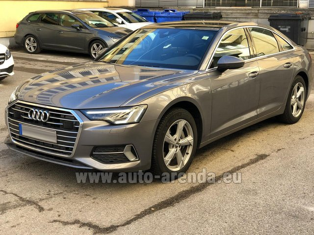 Rental Audi A6 45 TDI Quattro in Spain