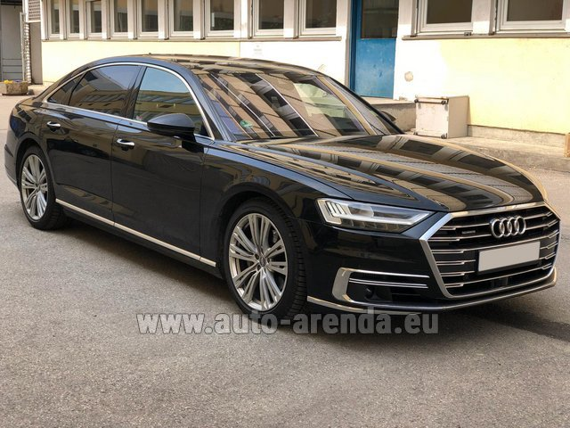 Прокат Ауди A8 Long 50 TDI Quattro в Мадриде