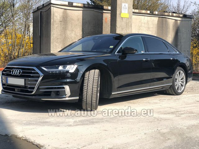 Rental Audi A8 Long 50 TDI Quattro in Spain