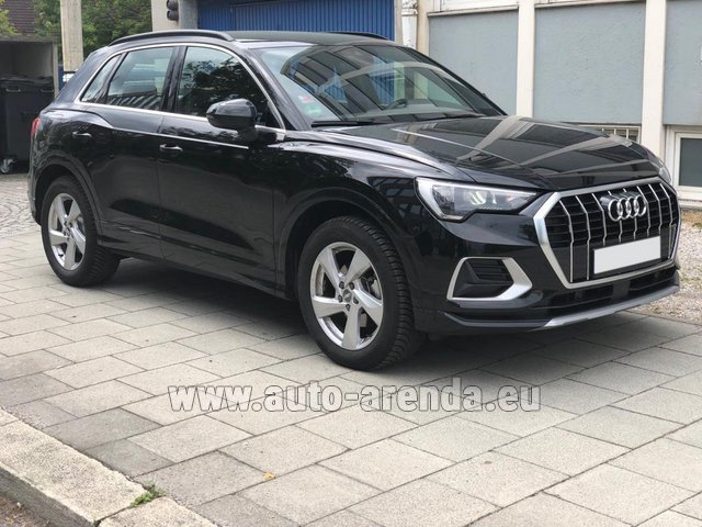 Hire and delivery to Barcelona - El Prat airport the car Audi Q3 35 TFSI Quattro