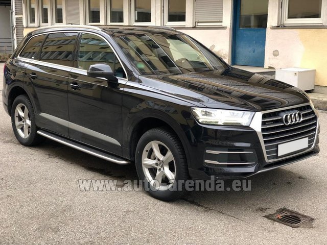 Rental Audi Q7 50 TDI Quattro 5-7 seats in Ibiza