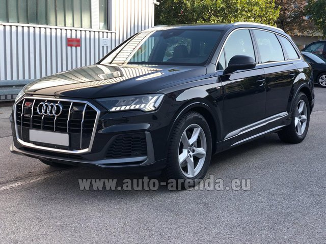 Прокат Ауди Q7 50 TDI Quattro Equipment S-Line (5 мест) в Мадриде