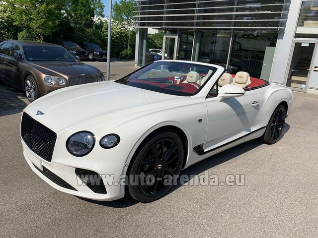 Rental Bentley GTC W12 First Edition in Alicante