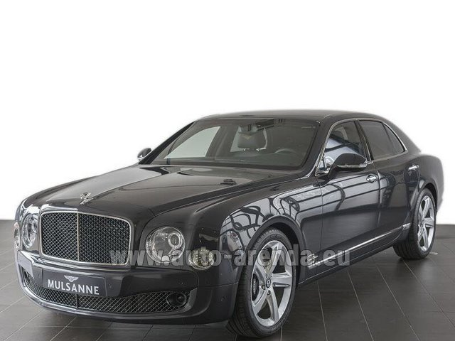 Rental Bentley Mulsanne Speed V12 in Palma