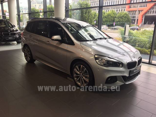 Rental BMW 2 Gran Tourer Equipment M Sport in San Sebastian