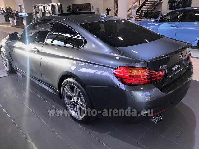 Rental BMW 420d xDrive Coupe M Sportpaket in Gibraltar
