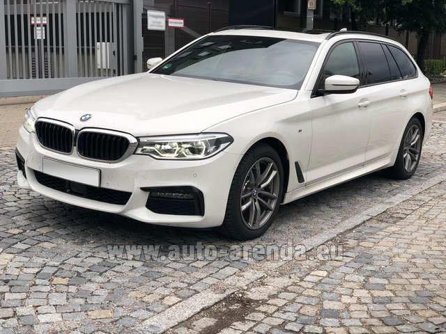 Rental BMW 520d xDrive Touring M equipment in Alicante
