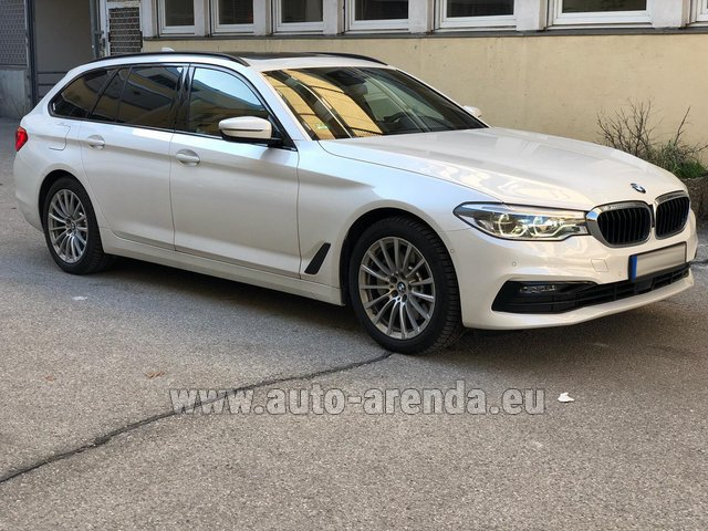 Rental BMW 5 Touring Equipment M Sportpaket in Majorca