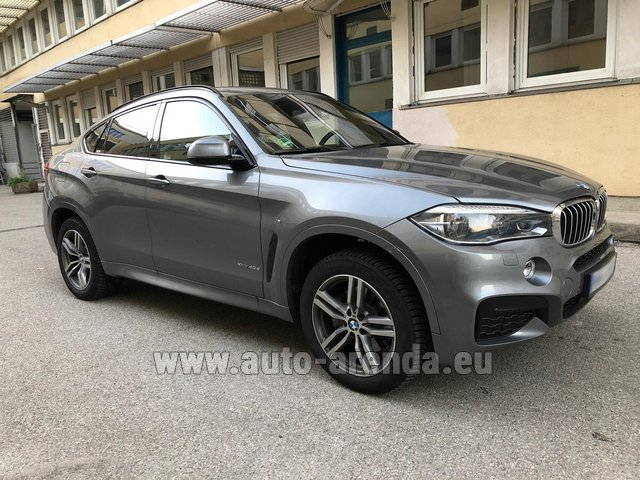 Rental BMW X6 4.0d xDrive High Executive M in Majorca