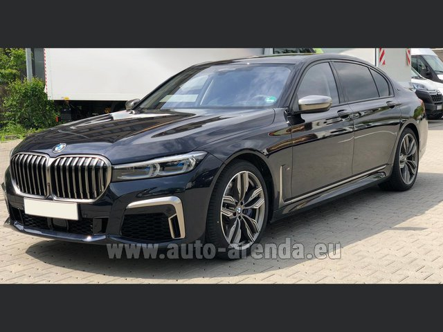 Rental BMW M760Li xDrive V12 in Fuengirola