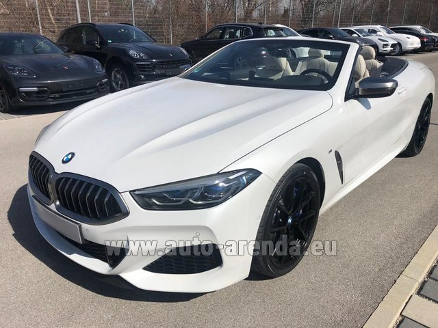 Rental BMW M850i xDrive Cabrio in Majorca