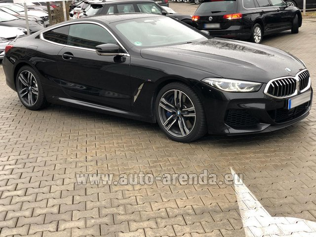 Rental BMW M850i xDrive Coupe in Majorca