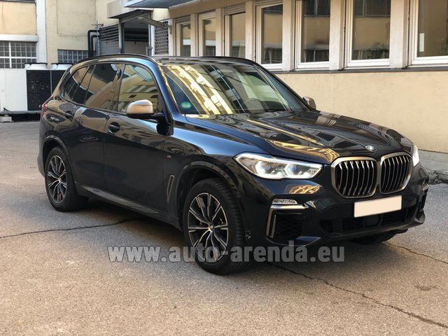 Rental BMW X5 M50d XDRIVE in Spain