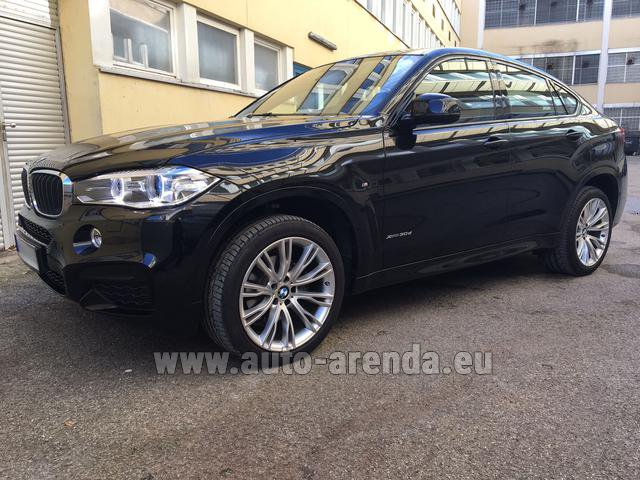 Прокат БМВ X6 3.0d xDrive High Executive M спорт пакет в Валенсии