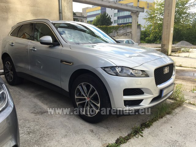 Rental Jaguar F-Pace in San Sebastian