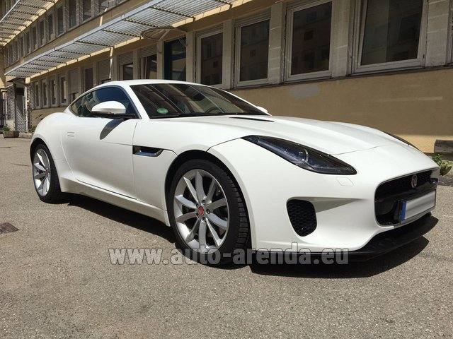 Rental Jaguar F-Type 3.0 Coupe in Gibraltar
