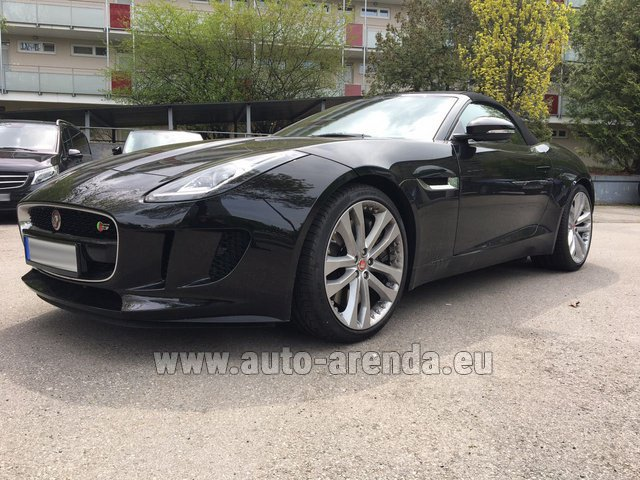 Rental Jaguar F Type 3.0L in Madrid