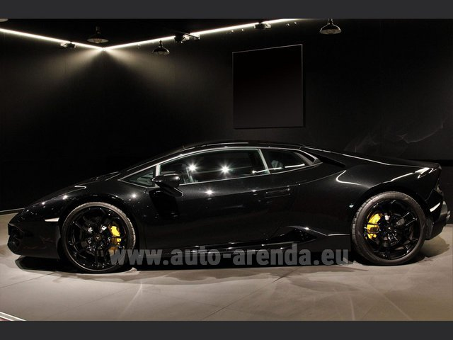 Rental Lamborghini Huracan LP580-2 Lifting System Giano 20 in Malaga