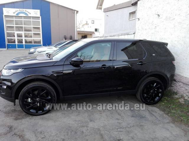 Rental Land Rover Discovery Sport HSE Luxury (5-7 Seats) in San Sebastian