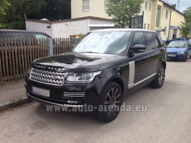Rental Land Rover Range Rover SDV8 Autobiography in Spain