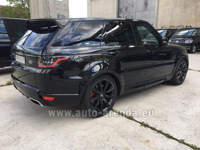 Range Rover Sport >> Rent The Land Rover Range Rover Sport Car In Marbella