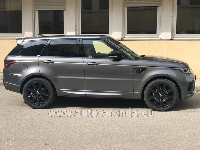 Rental Land Rover Range Rover Sport SDV6 Panorama 22 in Spain