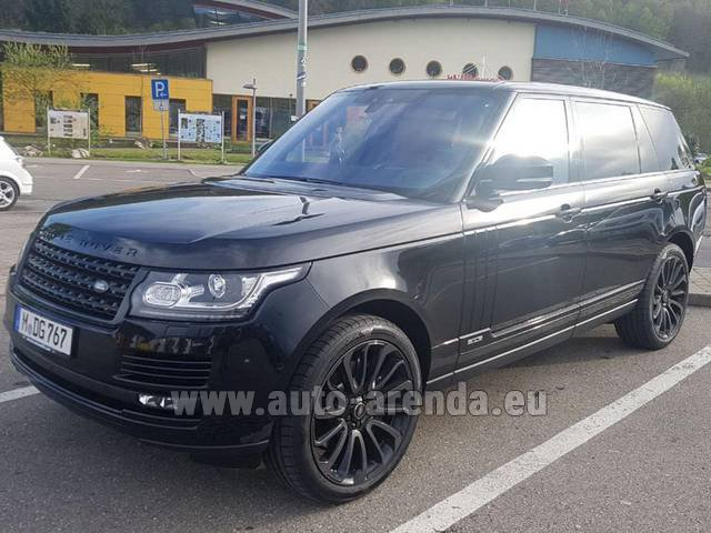 Rental Land Rover Range Super Charge 5.0L Long in Eivissa