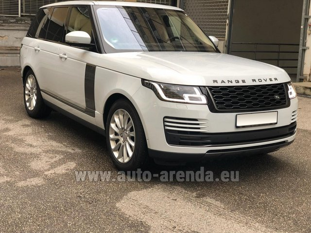 Прокат Ленд Ровер Range Rover Vogue P525 в Валенсии