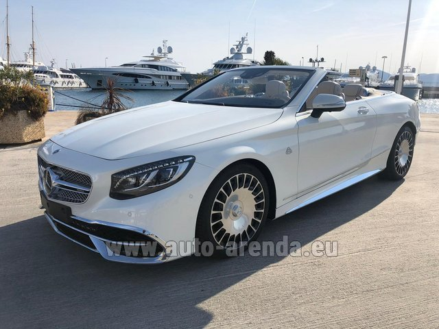 Прокат Maybach S 650 Cabriolet, 1 of 300 Limited Edition в Испании