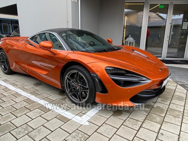 Rental McLaren 720S in Gibraltar
