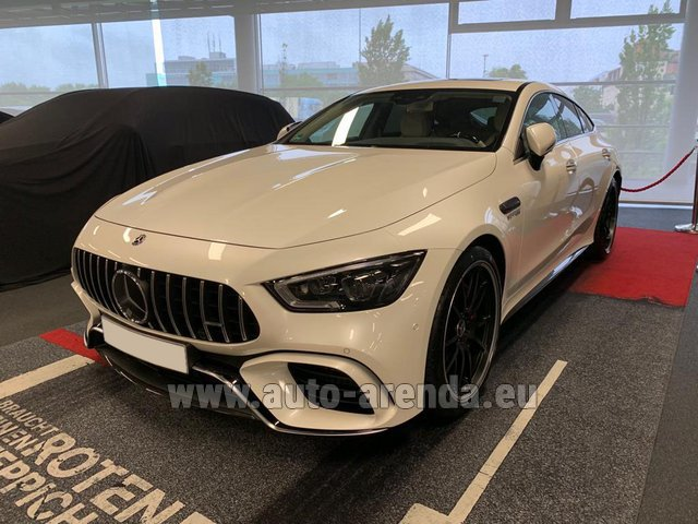 Прокат Мерседес-Бенц AMG GT 63 S 4-Door Coupe 4Matic+ в Испании