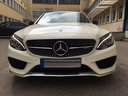 Rent-a-car Mercedes-Benz C-Class C43 AMG Biturbo 4MATIC White in Spain, photo 2