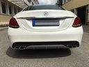 Rent-a-car Mercedes-Benz C-Class C43 AMG Biturbo 4MATIC White in Spain, photo 6