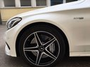 Rent-a-car Mercedes-Benz C-Class C43 AMG Biturbo 4MATIC White in Spain, photo 11
