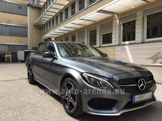 Rental Mercedes-Benz C-Class C43 AMG BITURBO 4Matic in San Sebastian