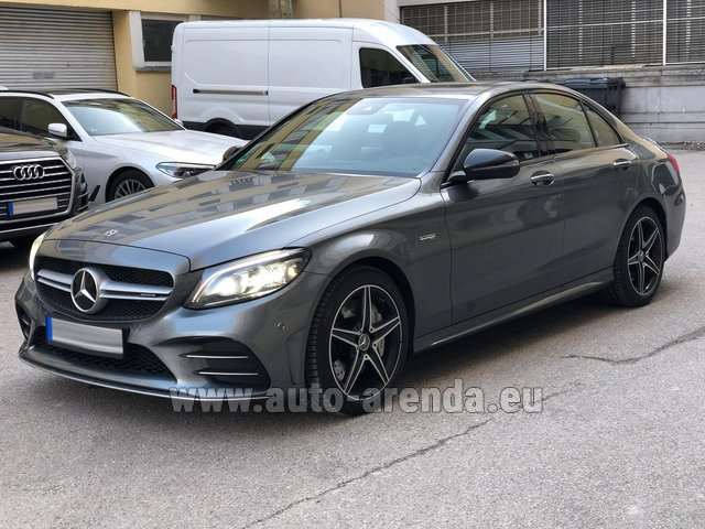 Rental Mercedes-Benz C-Class C43 BITURBO 4Matic AMG in Valencia
