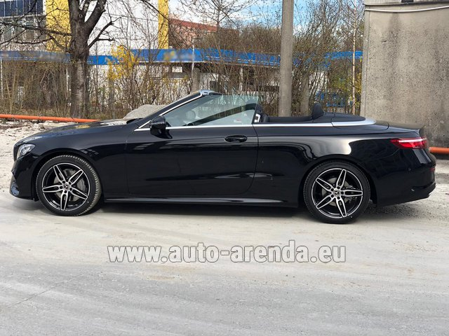 Прокат Мерседес-Бенц E 200 Cabriolet AMG equipment в Пальме