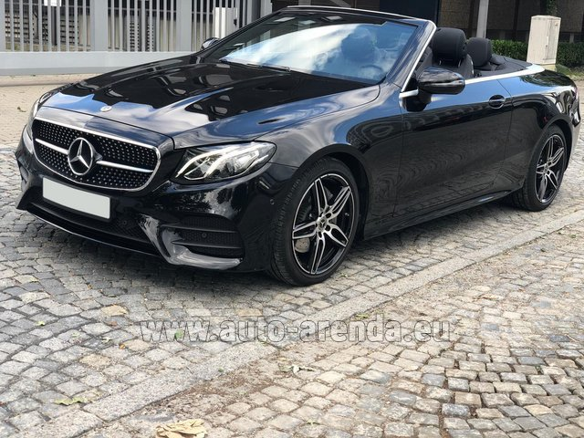 Rental Mercedes-Benz E-Class E220d Cabriolet AMG equipment in Spain
