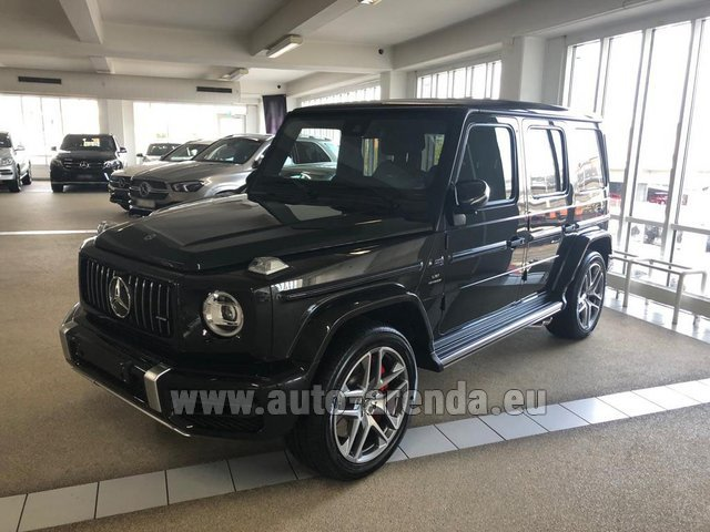 Rental Mercedes-Benz G63 AMG V8 biturbo in Spain