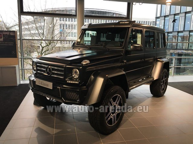 Rental Mercedes-Benz G-Class G 500 4x4² V8 in Spain