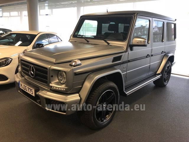 Rental Mercedes-Benz G-Class G 500 Limited Edition in Eivissa