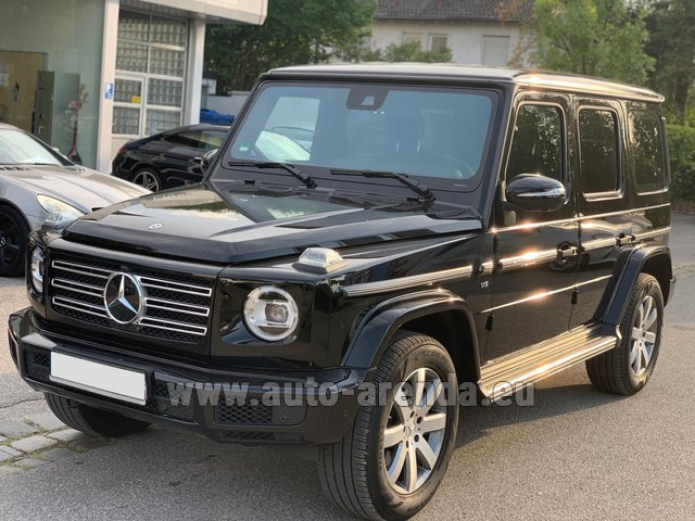 Rental Mercedes-Benz G-Class G500 2019 Exclusive Edition in Gibraltar