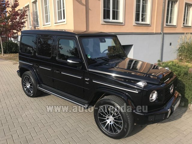 Rental Mercedes-Benz G-Class G500 2018 Exclusive Edition in Valencia