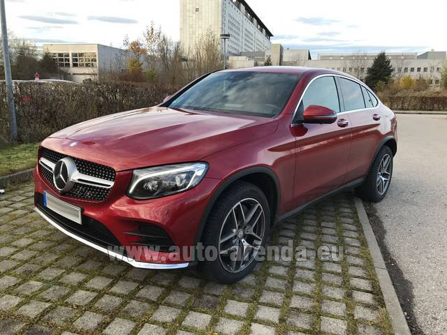 Rental Mercedes-Benz GLC Coupe equipment AMG in Spain
