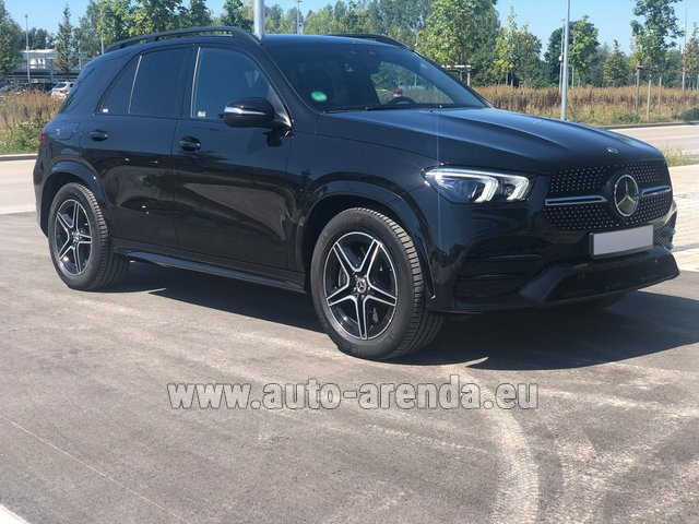 Прокат Мерседес-Бенц GLE 450 4MATIC AMG комплектация в Валенсии