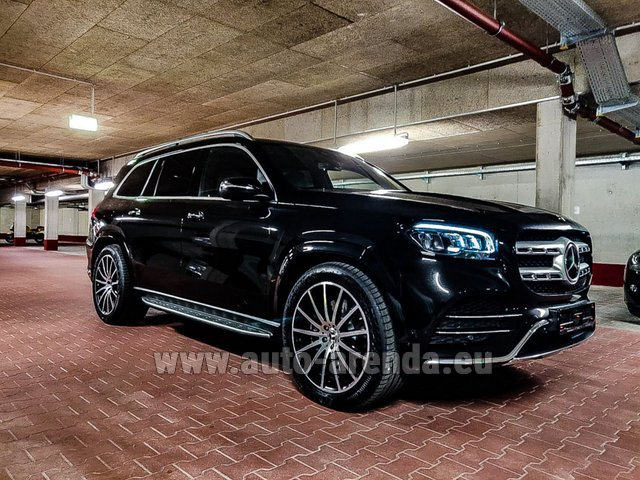 Rental Mercedes-Benz GLS 400d 4MATIC BlueTEC equipment AMG in Spain