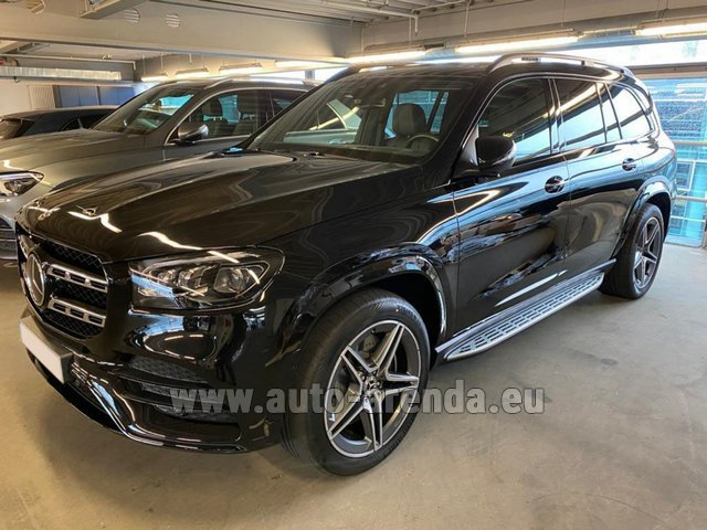 Rental Mercedes-Benz GLS 400d BlueTEC 4MATIC equipment AMG in Spain