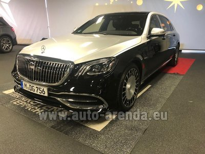Maybach/Mercedes S 560 Extra Long 4MATIC комплектация AMG